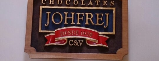 Chocolates Johfrej is one of Sugerencias 3.