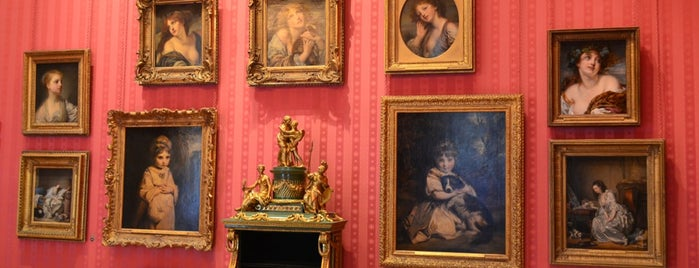 The Wallace Collection is one of London, baby!.