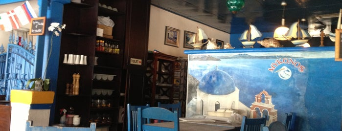 Mykonos Greek Taverna is one of Eden for Tummy in Some-Called Paradise.