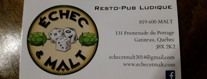 Echec et Malt is one of Board Game Cafes.