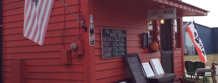 Coffee Caboose is one of Tempat yang Disukai h.
