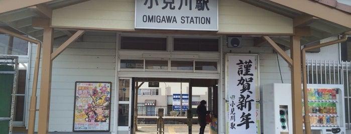 Omigawa Station is one of JR 키타칸토지방역 (JR 北関東地方の駅).