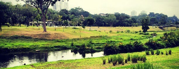 Bishan - Ang Mo Kio Park is one of Singapore.