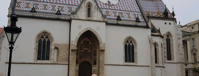 st marks church is one of Zagreb.
