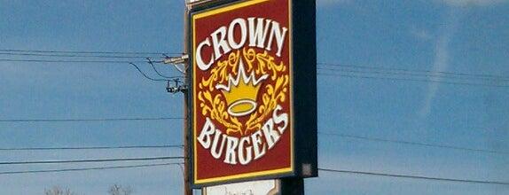 Crown Burgers is one of Tempat yang Disimpan Brad.