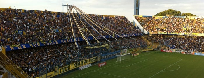 "Estadio Dr. Lisandro de la Torre ""El Gigante de Arroyito"" (Club Atlético Rosario Central) is one of Argentina football stadiums."