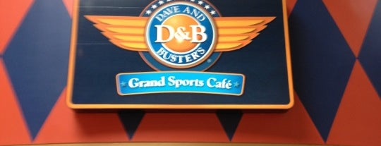 Dave & Buster's is one of Locais salvos de Chuck.