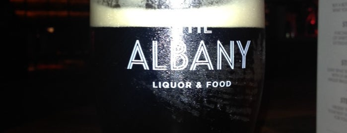 The Albany is one of Belfast.
