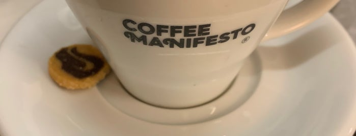 Coffee Manifesto Moda is one of Lieux sauvegardés par Ceren.
