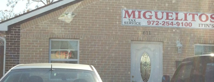 Miguelito's Income Tax Service is one of Orte, die Sirus gefallen.