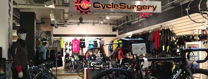 Cycle Surgery is one of Orte, die Richard gefallen.