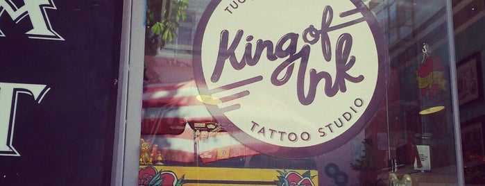 King of Ink Tattoo is one of Lugares guardados de Tayfun.