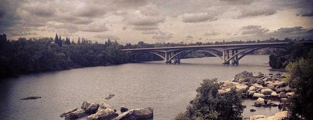 Folsom Bridge is one of roads.