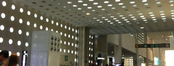 Flughafen Mexico Stadt (MEX) is one of สนามบินนานาชาติ (1).