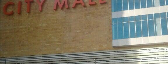 City Mall is one of Tempat yang Disukai Julio.
