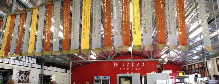 The Wicked Cheese Co is one of Bridget's Liked Places.