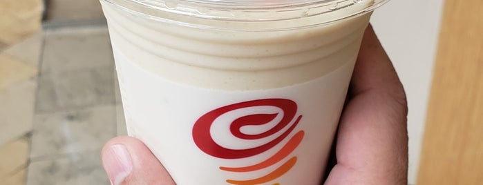 Jamba Juice is one of First List to Complete.