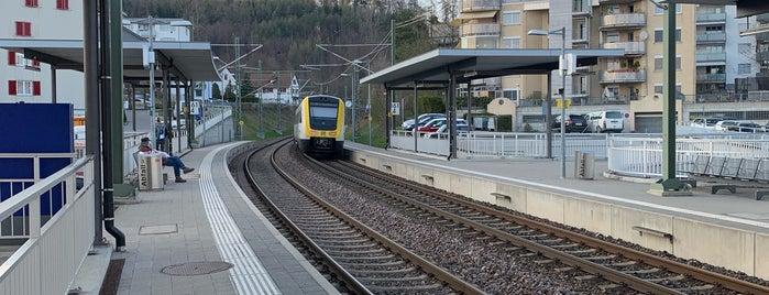 Neuhausen Badischer Bahnhof is one of Tempat yang Disukai Amit.