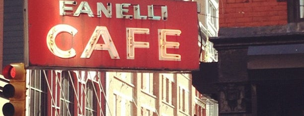 Fanelli Café is one of NYC Restaurants: To Go Pt. 2.