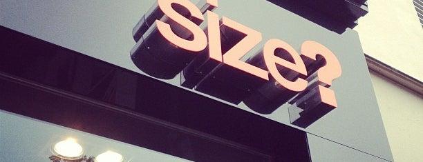 Size? is one of Paris Shops.