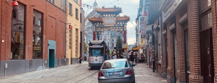 Chinatown is one of Belgium - Resto.