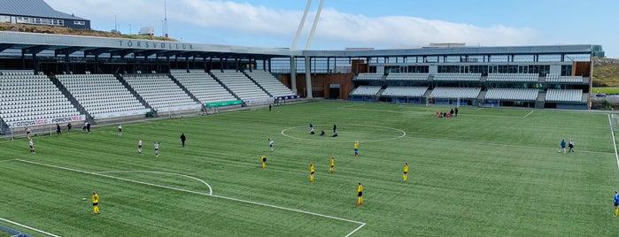Tórsvøllur is one of Part 1~International Sporting Venues....