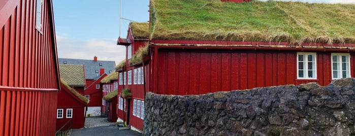 Tinganes is one of Faroe Island.