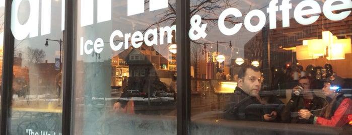 Toscanini's is one of Ice Cream.