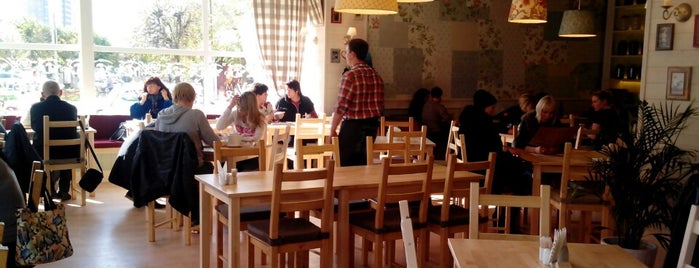 Домашнее кафе БабаУля is one of Съедобные места Серпухова.