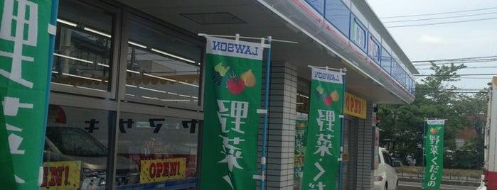 ローソン 東金バイパス店 is one of 田舎のランドマークコンビ二@千葉・東金基点.