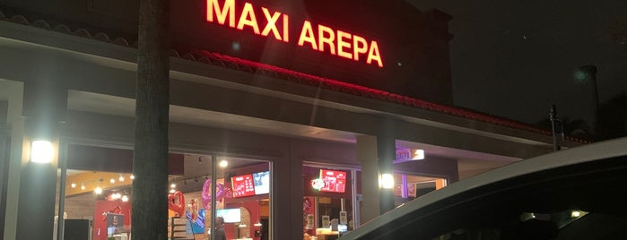 Maxi Arepa is one of Need to try in FTL.