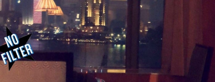 Graffiti Bar & Lounge at Four Seasons Hotel Cairo at Nile Plaza is one of shakira.