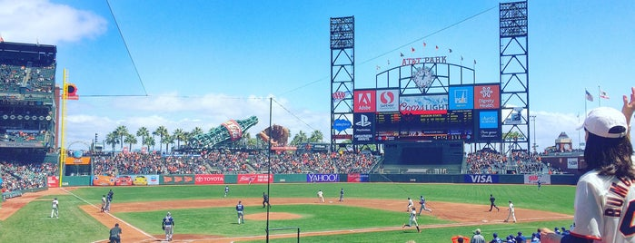 Oracle Park is one of California - The Golden State (Northern).