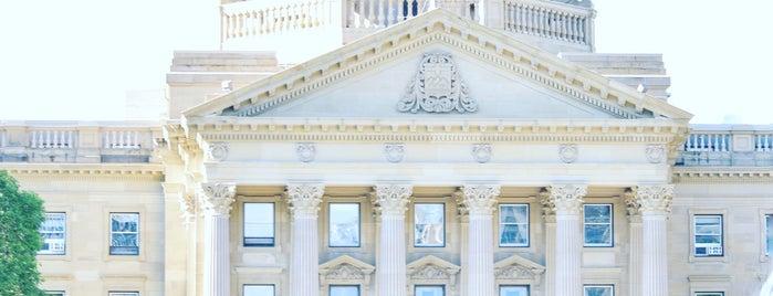 Alberta Legislature is one of Alberta - Wild Rose Country.