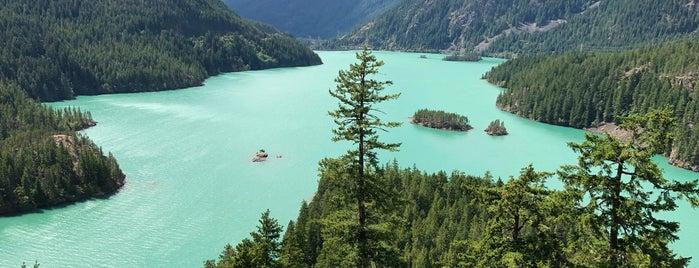 Diablo Lake Vista Point is one of สถานที่ที่ Jacquelin ถูกใจ.