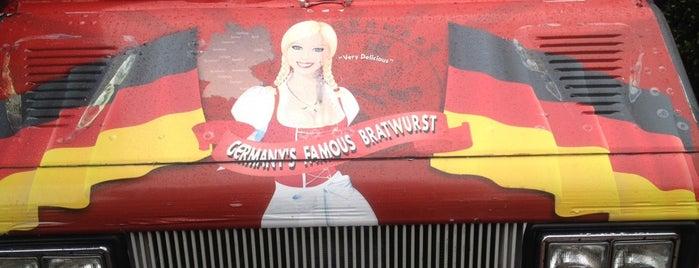 Germany's Famous Bratwurst Truck is one of Favorites in LA.