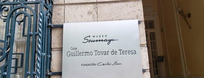 Casa Guillermo Tovar De Teresa is one of CDMX: Roma Norte.