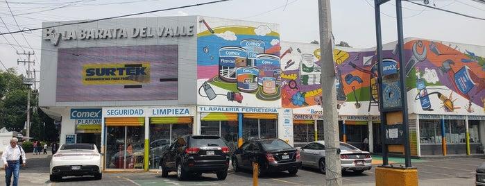 Tlapaleria Y Ferretería La Barata Del Valle is one of Lieux sauvegardés par Yenissa.