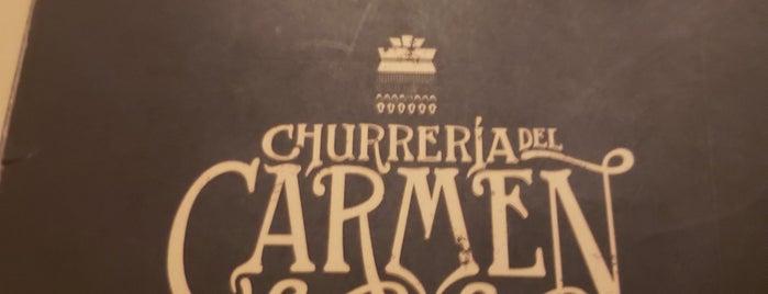 churreria del carmen is one of Lugares favoritos de Gerard.