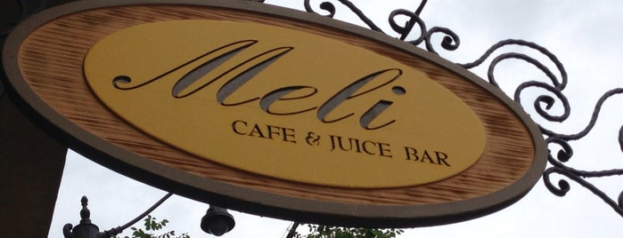 Meli Cafe & Juice Bar is one of Gespeicherte Orte von Nikkia J.