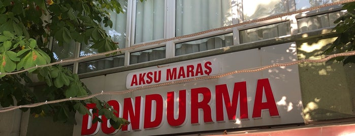 Aksu Maraş Dondurma is one of 06- ANKARA.