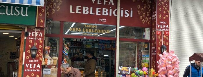 Tarihi Vefa Leblebicisi is one of Orte, die Gurme gefallen.