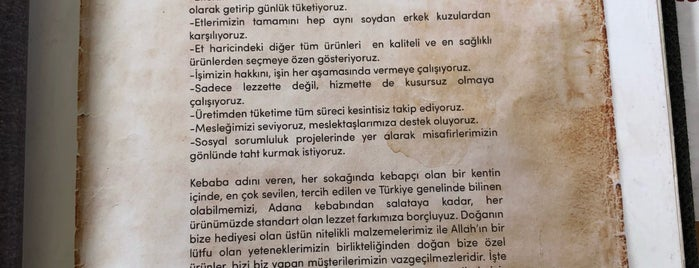 Salih Usta Kebap Ankara is one of Yorumlar.