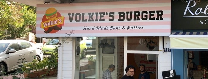 Volkie's Burger is one of Gurme 님이 좋아한 장소.