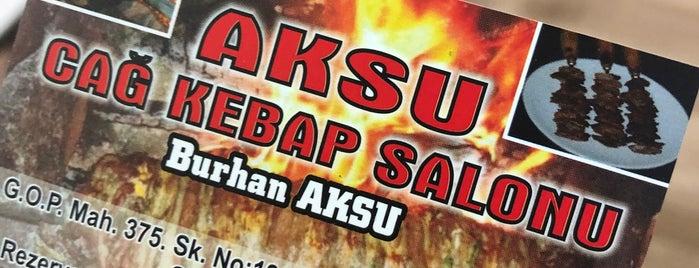 Aksu Cag Kebab is one of Posti che sono piaciuti a Gurme.
