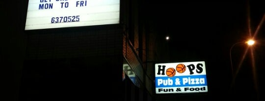 Hoops Pub & Pizza is one of Peoria.