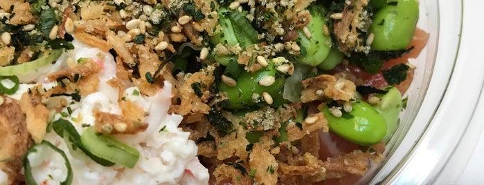 Big Fish Little Fish Poke is one of LA Lunch Spots.