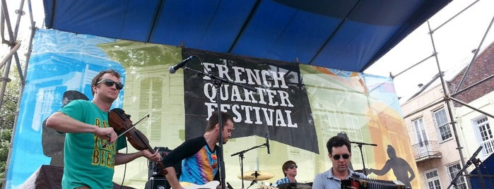 French Quarter Fest is one of Eat. Play. Live..