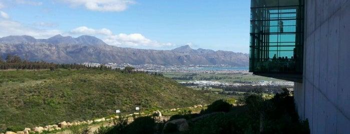 Waterkloof Wine Estate is one of Honeymoon in Cape Town.