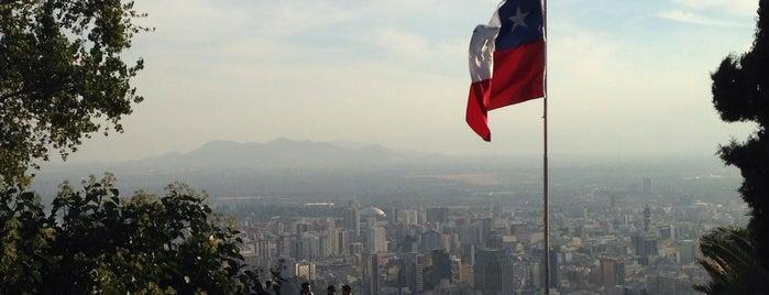 Cerro San Cristóbal is one of #SantiagoTrip2.